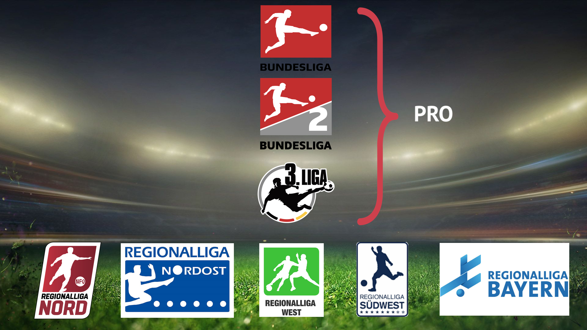 Структура немецкого футбола