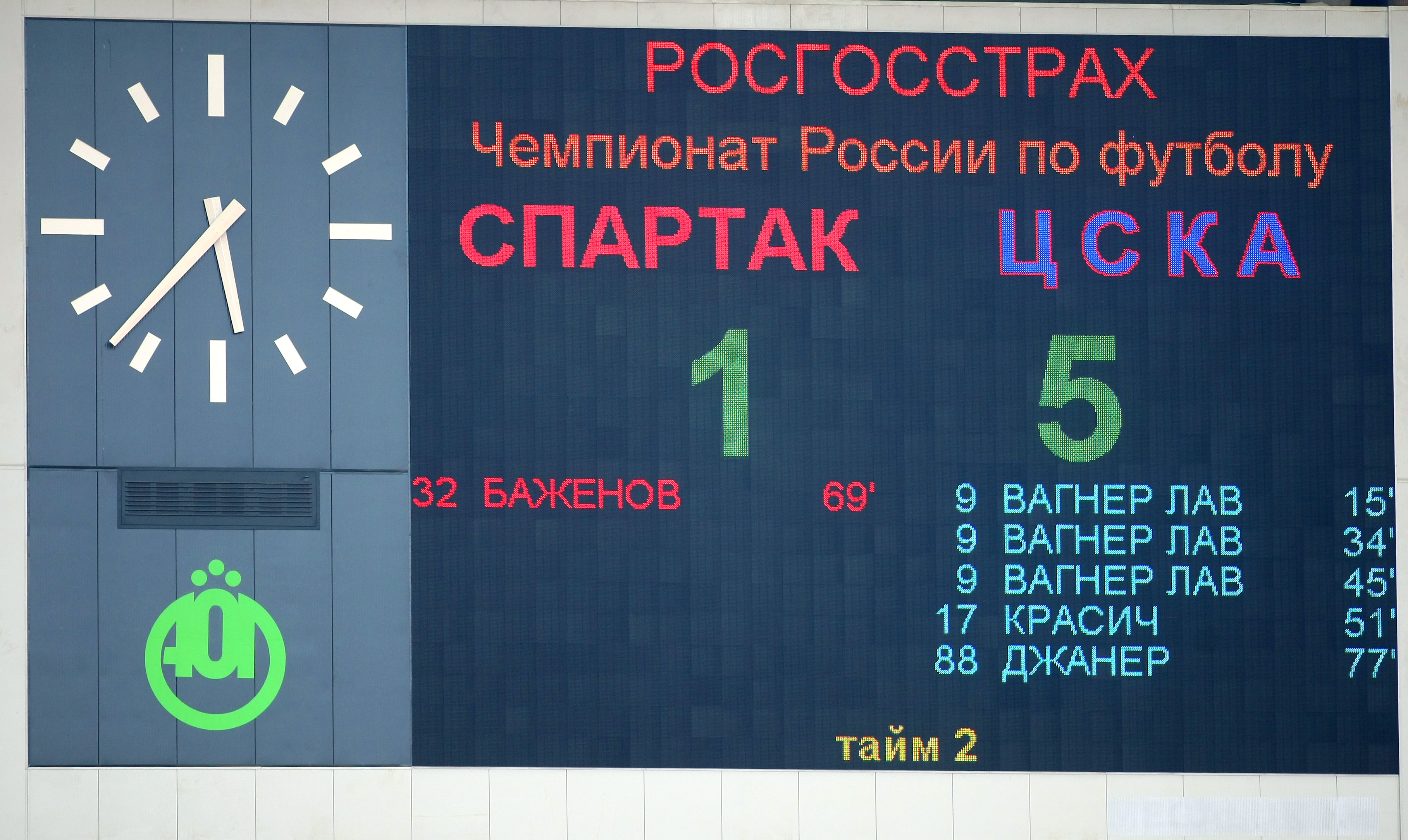 В 2008-м фанаты «Спартака» подожгли стадион в Брянске на матче Кубка России. Так они добивались увольнения Черчесова