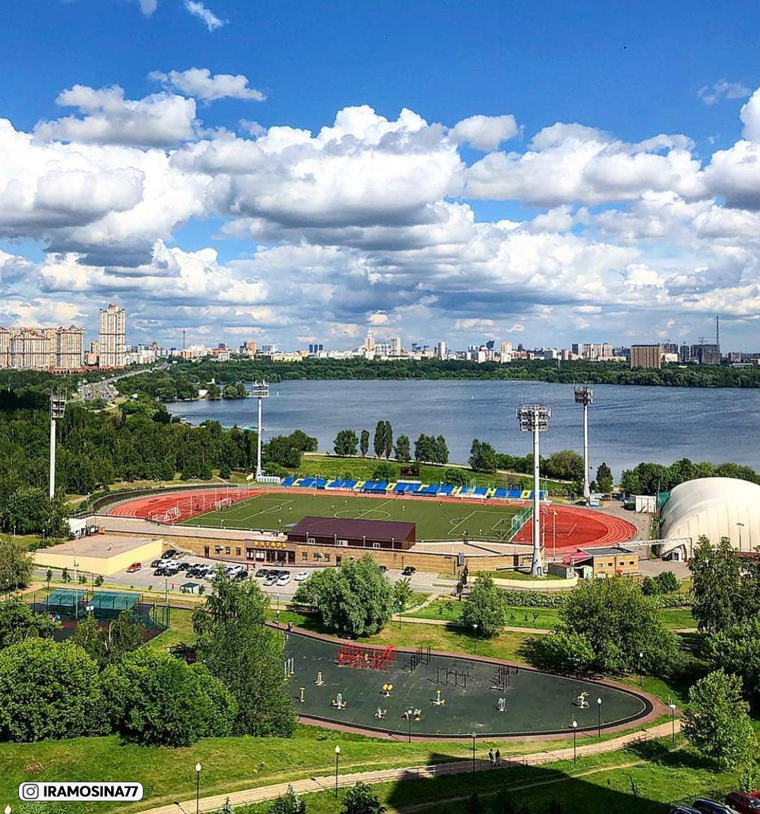 Московский стадион «Янтарь». Отобрали лучшие фото