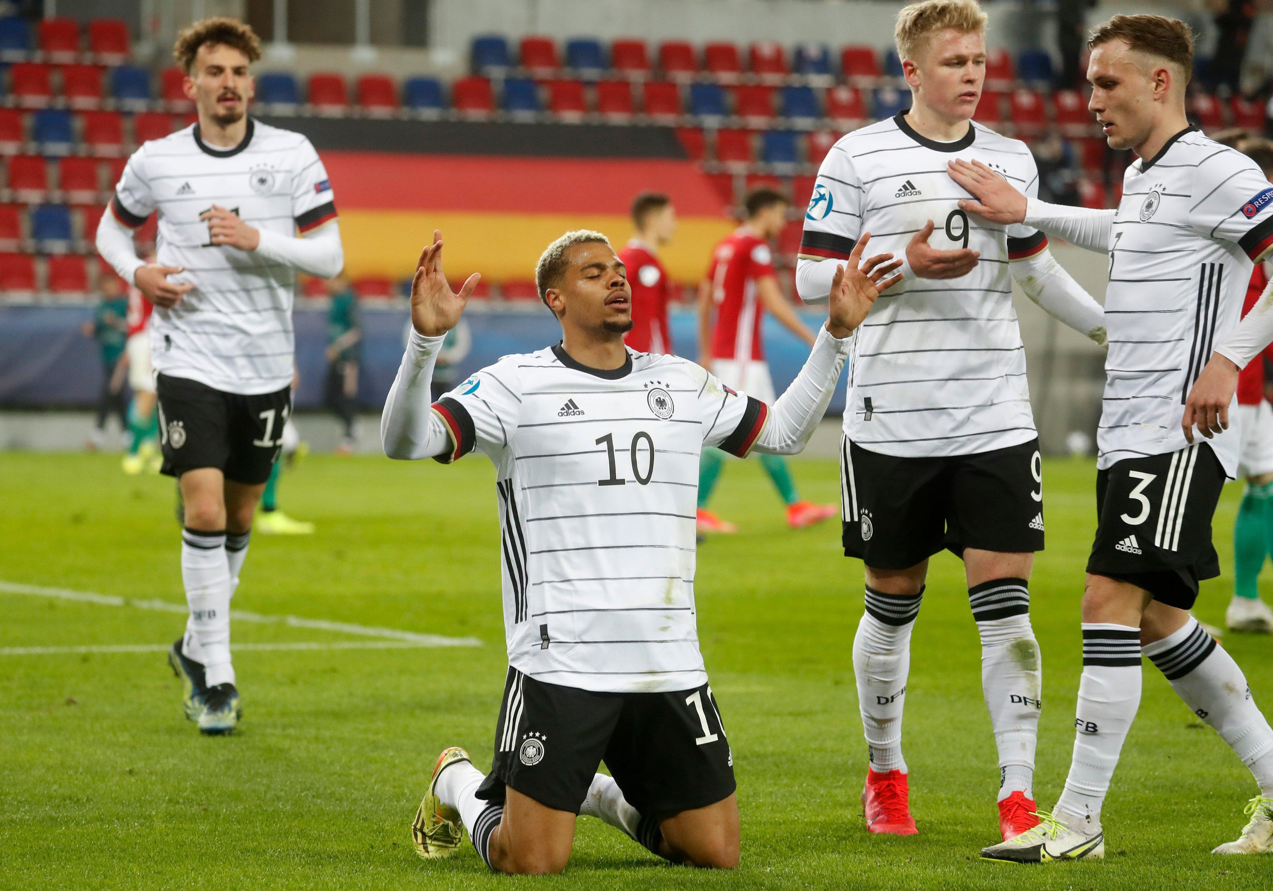 Венгрия 0:3 Германия. Старт молодёжного Евро для Ди Манншафт!