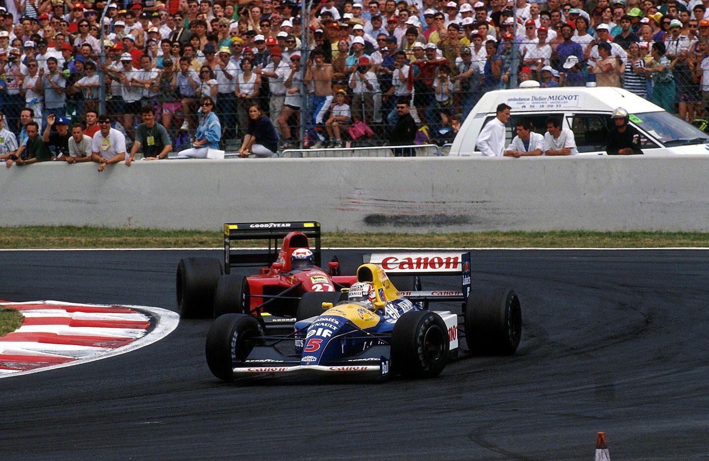 30 лет назад состоялся первый Гран-при Франции на Маньи-Куре. В битве за победу Мэнселл дважды за гонку обогнал Проста