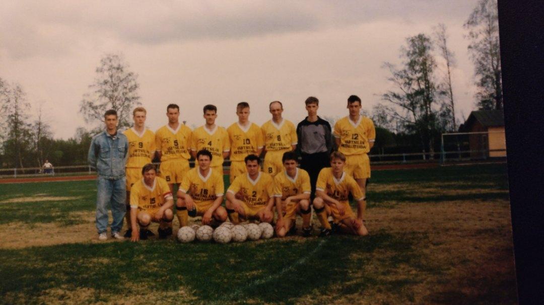 В 90-е русский клуб играл в чемпионате Финляндии 7