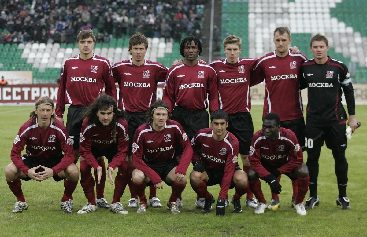 клубы футболистов москва