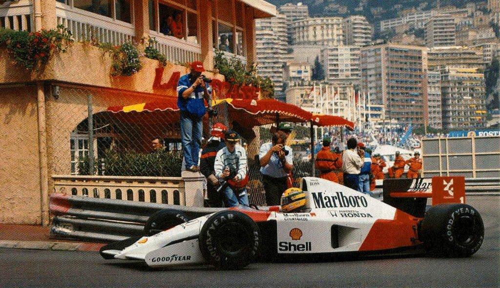 Монако 91-го. Доминирование Сенны на запасном болиде со сломанным мотором, аварии и дисквалификация Брандла