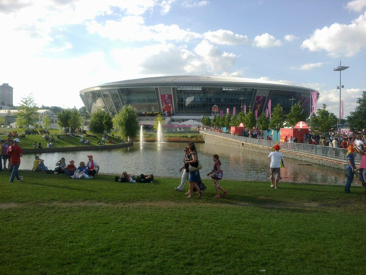 Сборная Португалии по футболу, Евро-2012, Евро-2020, Донбасс Арена, Сборная Украины по футболу, Конкурс