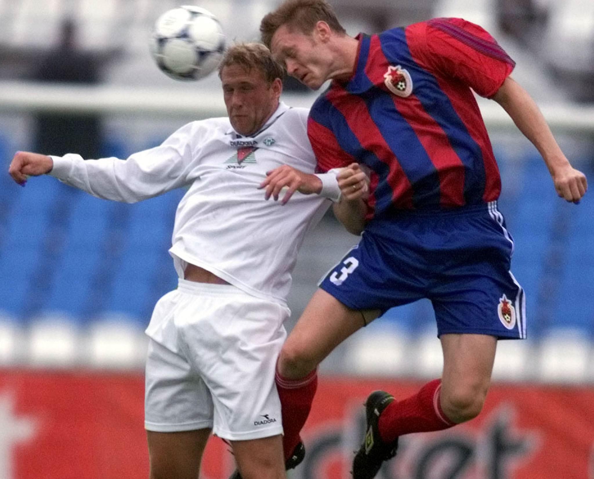 22 года назад ЦСКА потерпел кошмарное поражение в Мольде. Из-за этого футболистов оштрафовали на десятки тысяч долларов